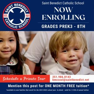 St. Benedict is Now Enrolling!